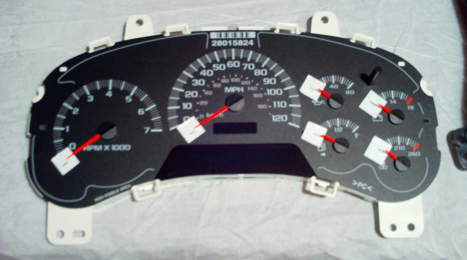 2005 Chevrolet Trailblazer Instrument Cluster Stepper Motor Replacement