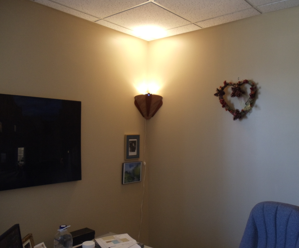 Corner light fixture - Lighting fixtures for any corner of the home ...