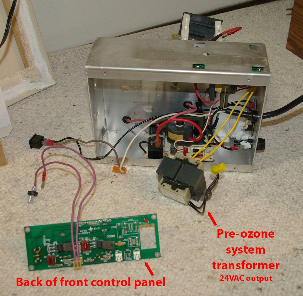 Living Air Ozone Purifier Machine Repair